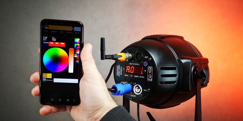 AIR2DMX PAR smartphone 800