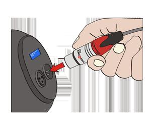 Plug in DMX device