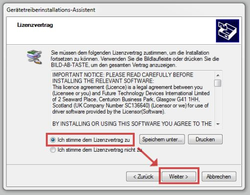 Windows Install License